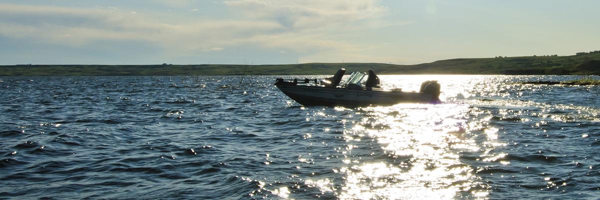 Walleye Fishing in Pierre, SD