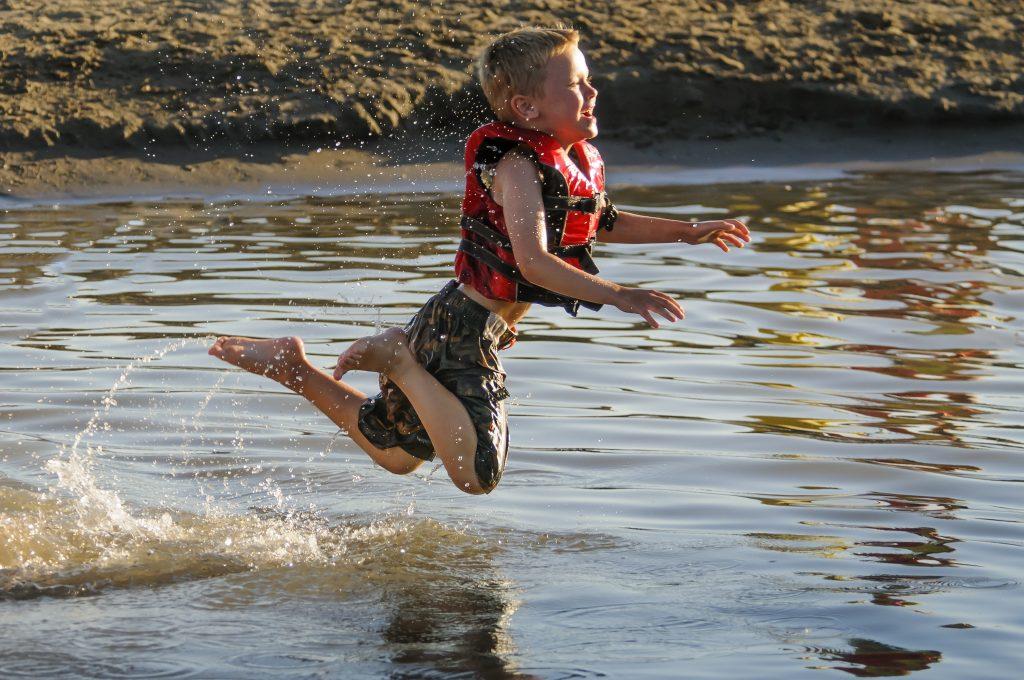 Missouri River Swimming